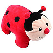 Necknapperz Dotty the Ladybug Soft Toy