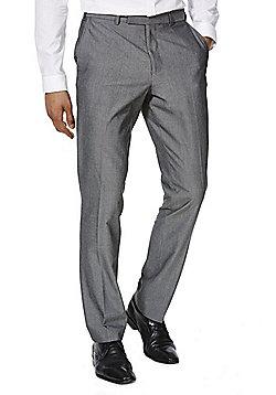 F&F Slim Fit Suit Trousers - Grey