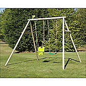 TP Knightswood Double Swing Set