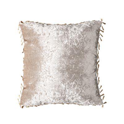 Mink Crushed Velvet Cushion 24