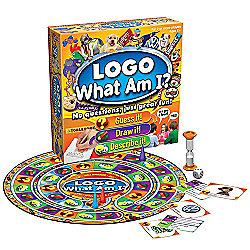 Logo: What Am I? Board Game