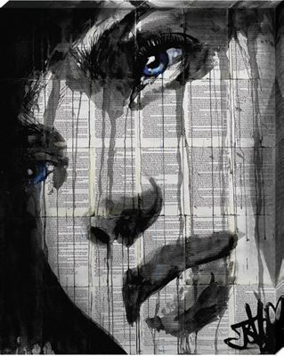 Loui Jover Always Canvas Print 40x50cm