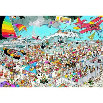 At The Beach - JVH Puzzle