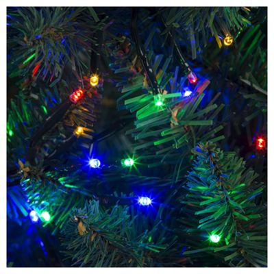720 Cluster LED Christmas Lights, Coloured