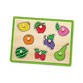 Viga Wooden Fruit Puzzle