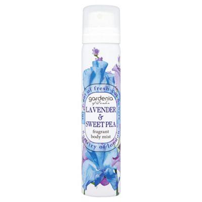 Gardenia of London Lavender & Sweet Pea Fragrant Body Mist