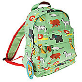 Nursery Backpacks, Kids Mini Rucksacks, Mini Toddler Backpack - Green Jungle