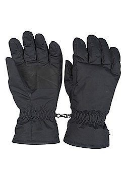 Mountain Warehouse Mens Ski Gloves - Black