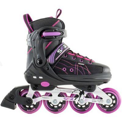 SFR RX-XT Adjustable Inline Skates - Black/Pink - Large (UK 3.5 - UK 6)