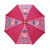 Character Peppa Pig Pink 'Splat' Nylon Umbrella