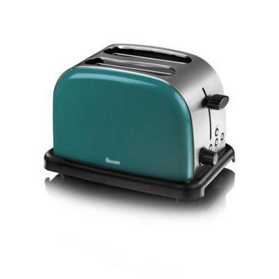 Swan ST14010TELN 2 Slice Toaster (Teal)