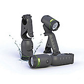 Waterproof 210 Lumens LED Torch and Flashlight – Blackfire Clamplight BBM905