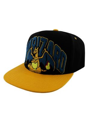 Pokemon Charizard Orange Snapback Cap