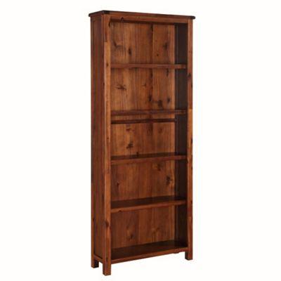 Prussia Acacia Bookcase - Large Bookcase - Dark Acacia