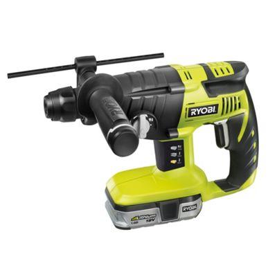 Ryobi Pt50416487 Crh 18012l Green Cordless SDS Rot Hammer Drill 18v 2 X Li ion