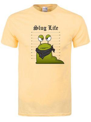 Slug Life Haze Yellow Men's T-shirt