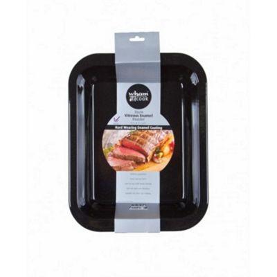 Wham Cook Vitreous Enamel Non-Stick Induction Roasting Roaster Baking Tin