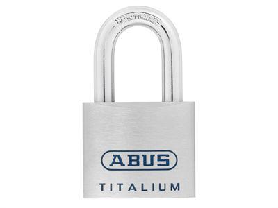 ABUS Mechanical 96TI/60 Titalium Open Shackle Padlock 60mm KA7565