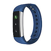 Aquarius AQ115-Lite Fitness Activity Tracker Smartwatch Sports Wristband For iOS & Android Devices - Blue