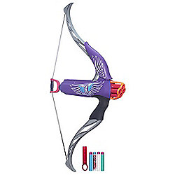 Nerf Rebelle Strongheart Bow Purple Blaster