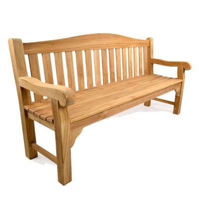BrackenStyle Oxford Teak Bench - 4 Seater