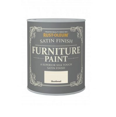 Rust-Oleum Satin Furniture Paint - Shortbread - 125ML