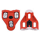 'Look' Delta Shoe Plates in Red