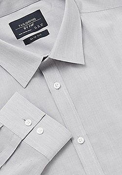 F&F Easy Care Slim Fit Shirt - Ice white