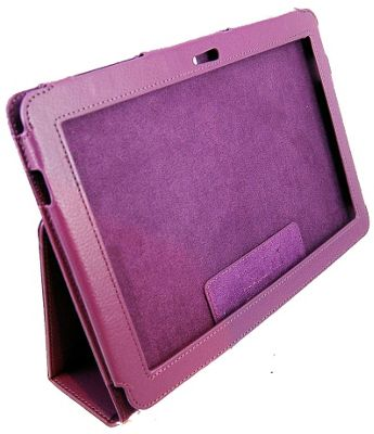 U-bop Neo-ORBIT Leather Case - Purple