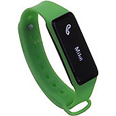 Archon Touch Green Smart Fitness Wristband OLED Touchscreen Activity Tracker