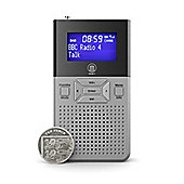Majority Romsey Handheld Pocket DAB FM Radio With Speaker