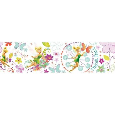 Disney Tinkerbell Fairytail Garden Multi Wallpaper Border 5 Metres