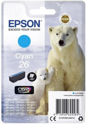 Epson Claria Premium Ink Cartridge C13T26124012