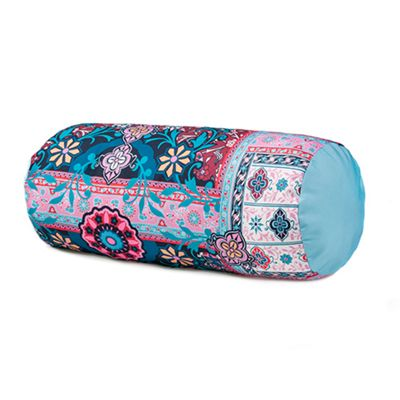 Gardenista Persia Round Bolster Outdoor Water Resistant Cushion