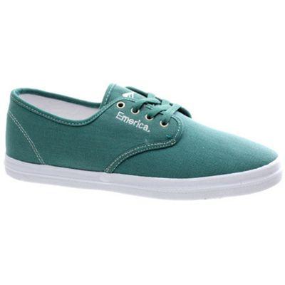 Emerica Wino Fusion Green/White Shoe