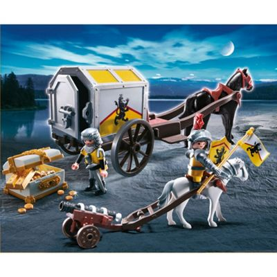 Playmobil - Lion Knights Treasure Transport 467 Lion Knight's Ballista