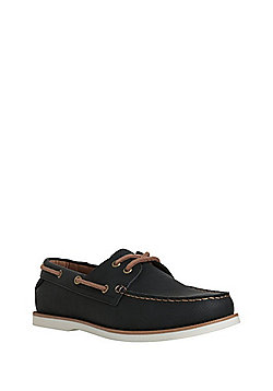 F&F Lace-Up Boat Shoes - Navy