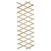 Kingfisher Expanding Wooden Trellis Garden Plant Support 6ft x 2ft