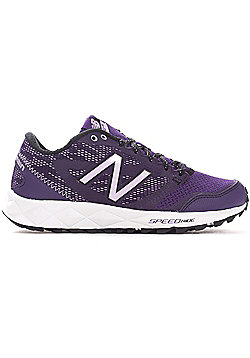 New Balance 590v2 Speed Ride Trail Womens Ladies Running Trainer Shoe Purple - Purple