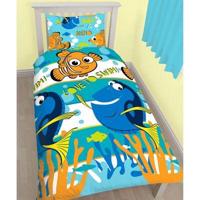 Finding Nemo Dory Single Duvet Cover and Pillowcase Set