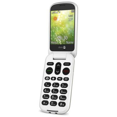 DORO 6050 Mobile Phone - Champagne/White