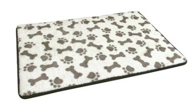 Country Club Memory Foam Pet Bed Brown 50 x 80cm