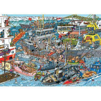 Sea Loading Dock - JVH Puzzle