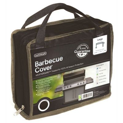 Gardman Large Barbecue Cover- Black