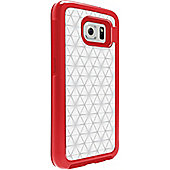 OtterBox MySymmetry Case for Smartphone - Clear, Scarlet Crystal