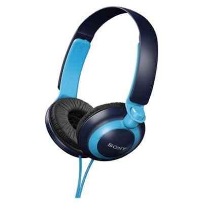 Sony MDR-XB200 Extra Bass Overhead Headphones - Blue