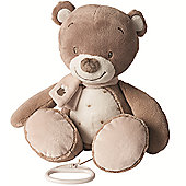 Nattou Large Musical Soft Toy - Tom the Bear