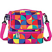 Kids' Lunch Bag - Dual Compartment, Pinwheel