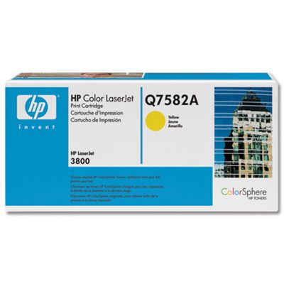 HP 503A LaserJet Toner Cartridge - Yellow