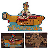 Puckator Beatles Yellow Submarine Clock, Licensed Design